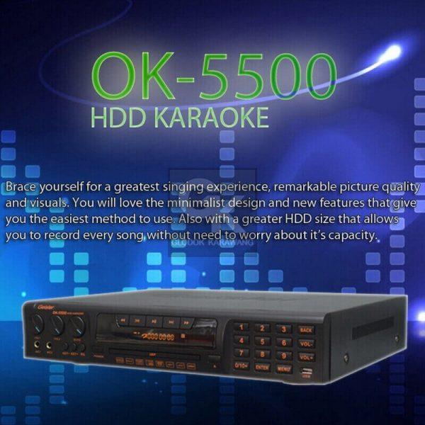 karaoke player OK-5500 geisler