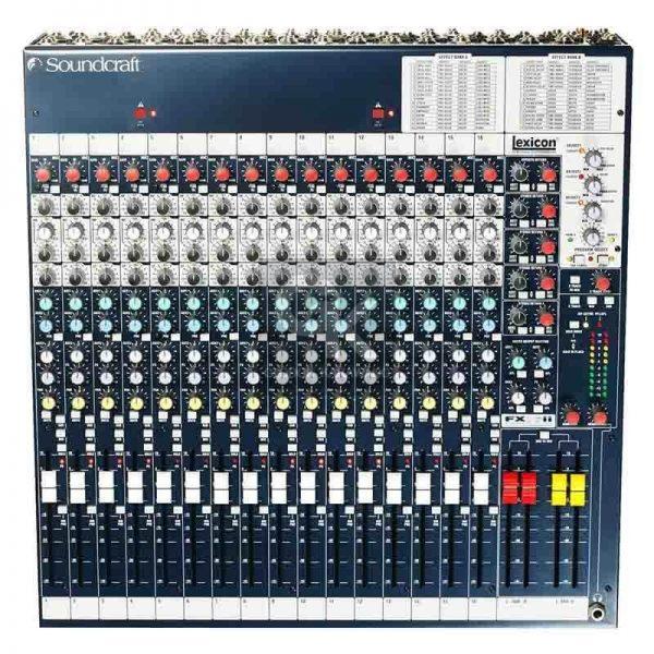 mixer fx16ii soundcraft