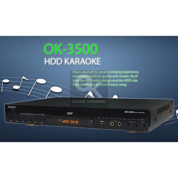 karaoke player OK-3500 geisler