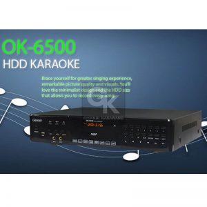 karaoke player ok-6500 geisler