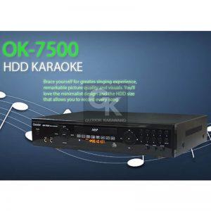 karaoke player ok-7500 geisler