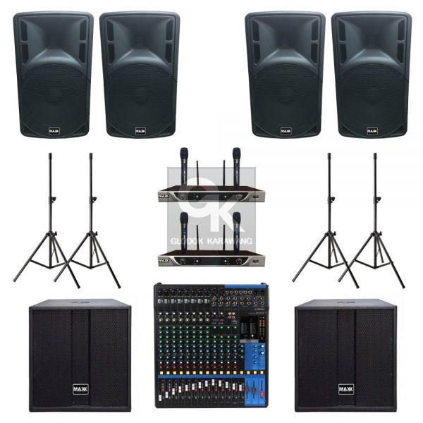 Paket Sound System Professional C