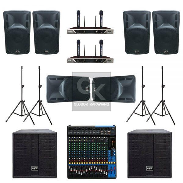 Paket Sound System Professional D