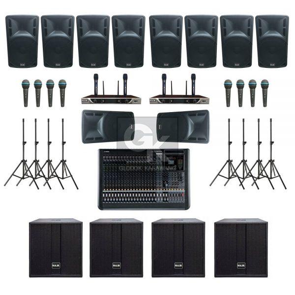 Paket Sound System Professional E