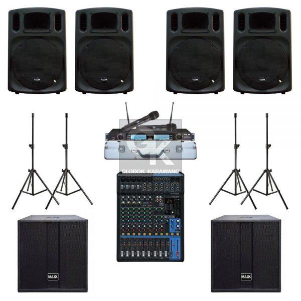 Paket Sound System Gereja F