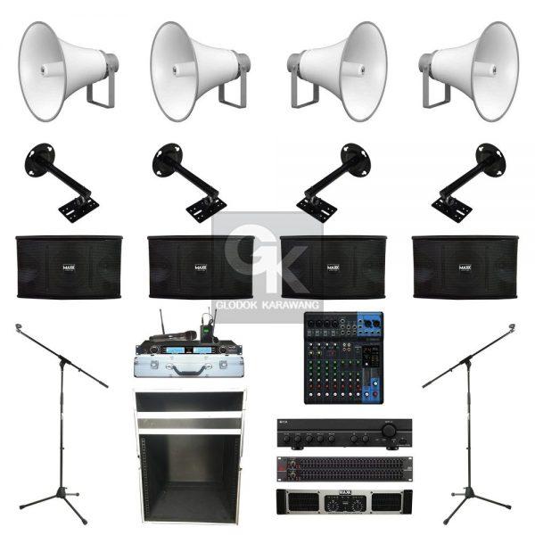 Paket Sound System Masjid E