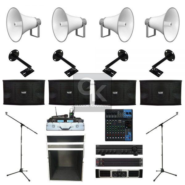 Paket Sound System Masjid F