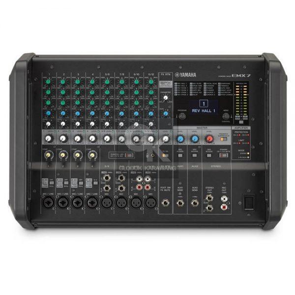 powered mixer emx7 yamaha 1