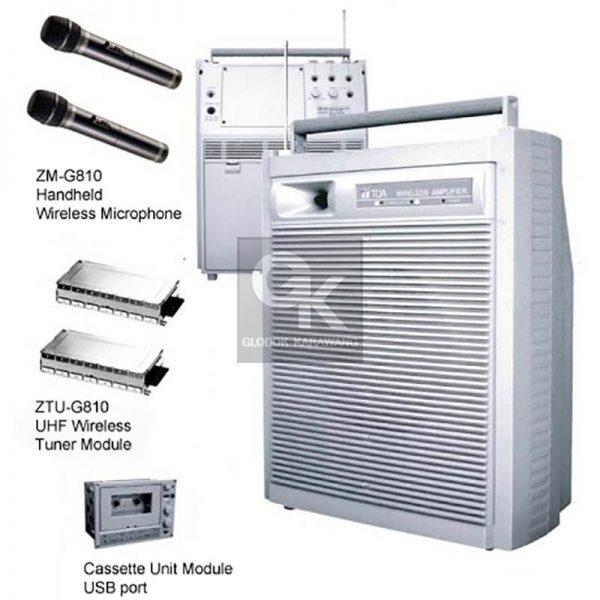 wireless meeting amplifier ZW-G810CU toa