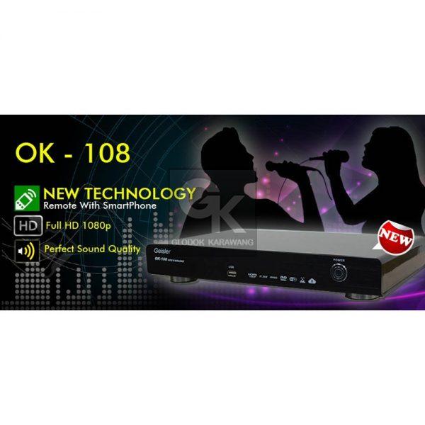 karaoke player ok-108 geisler