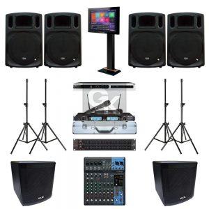 Paket Sound System Karaoke K