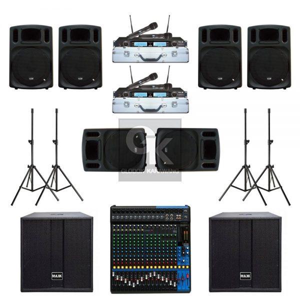 Paket Sound System Gereja H