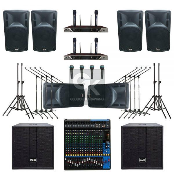 Paket Sound System Lapangan C